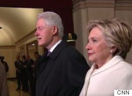 Clinton Sums Up Inauguration Day In One Deep Breath