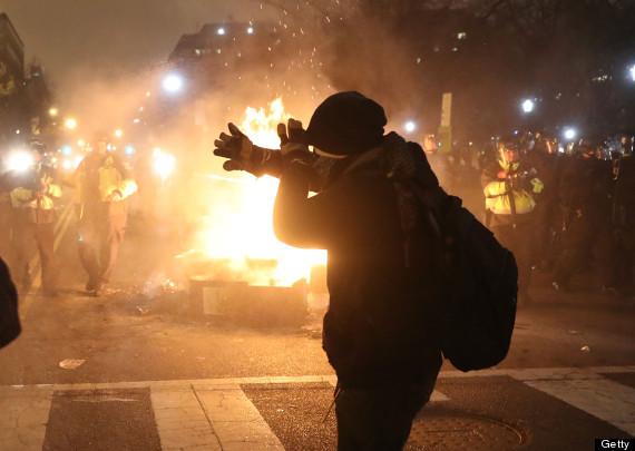 washington protesters