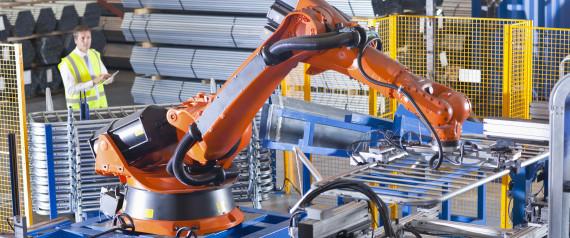 ROBOTS WORKING