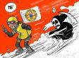 Questa vignetta è la migliore risposta all'ironia di Charlie Hebdo sull'hotel Rigopiano