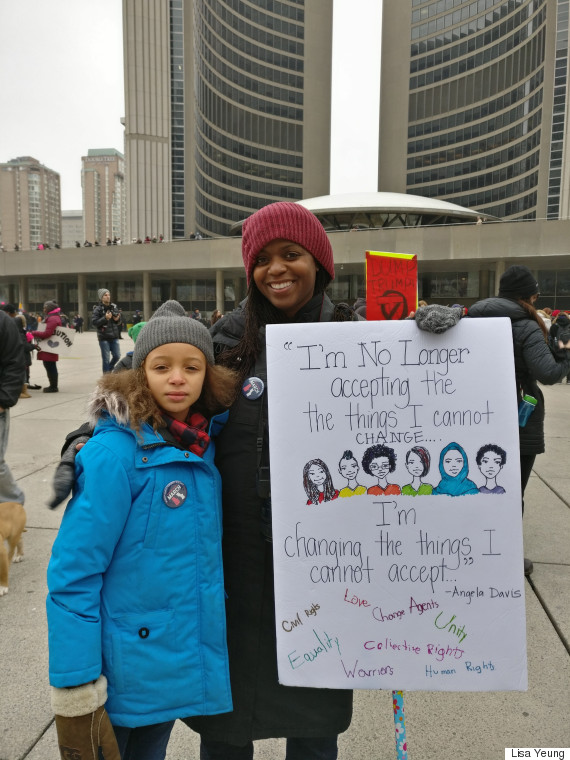 rochelle womens march toronto