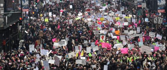 WOMEN MARCH NEW YORK