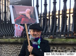 Ian McKellen's Sign At Women's March Sums It All Up