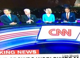 Críticas a CNN por este detalle en la cobertura de las Mujeres contra Trump