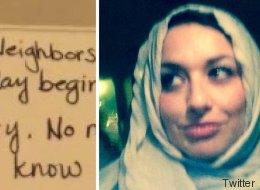 Kurz nach Trumps Amtsantritt fand eine muslimische Familie diesen rührenden Zettel an ihrer Tür