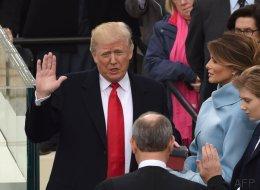 5 mentiras (y una amenaza) de Trump en sus dos primeros días de presidente