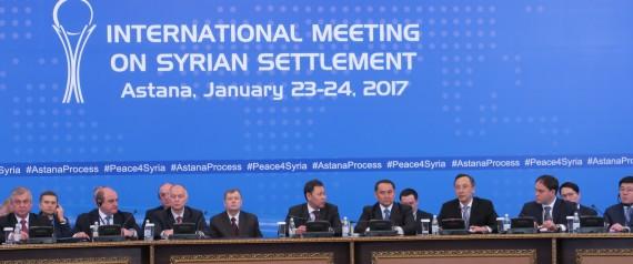 POURPARLERS SUR LA SYRIE