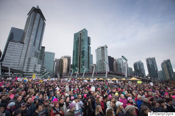 women march vancouver