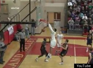 Devin Thomas Dunk Backboard