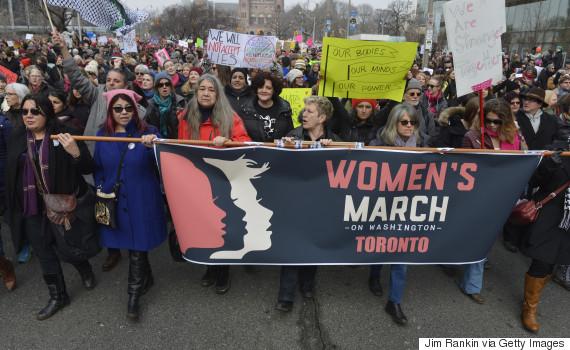 women march toronto