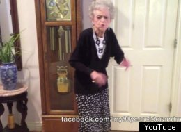 Grandma Dances To Whitney Houston