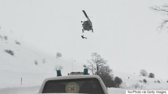 Un hélicoptère de secours s'écrase dans le centre de l'Italie