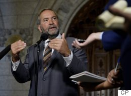 Mulcair Urges Trudeau To Push Back At Trump's Keystone Decision