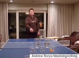Alberta Student Is Unstoppable At Beer Pong