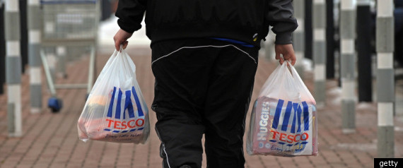 Tesco Protest Government Work Scheme