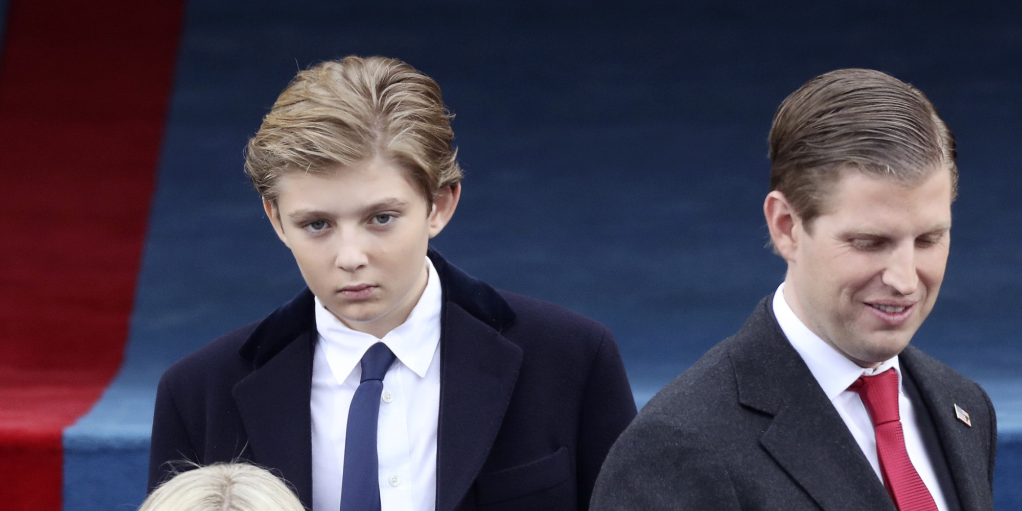 leave barron alone white house