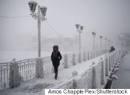Voici le village le plus froid de la planète