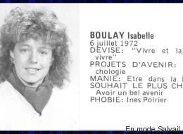 «En mode Salvail» a trouvé l'hilarante photo de finissante d'Isabelle Boulay