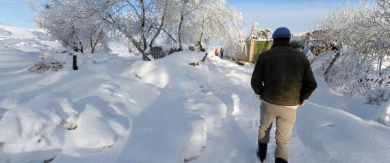 ALGERIA SNOW