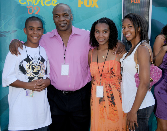 mike tyson and his family