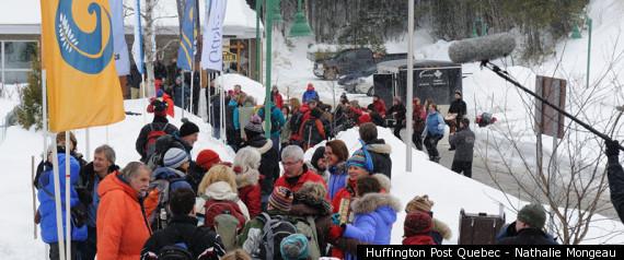 Traversee Ski De Fond Gaspesie