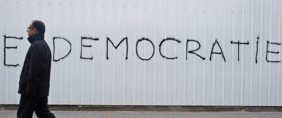 TUNISIA DEMOCRACY WALL