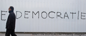TUNISIA DEMOCRACY WALL