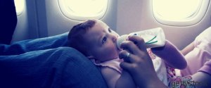 MOTHER AIRPLANE BABY
