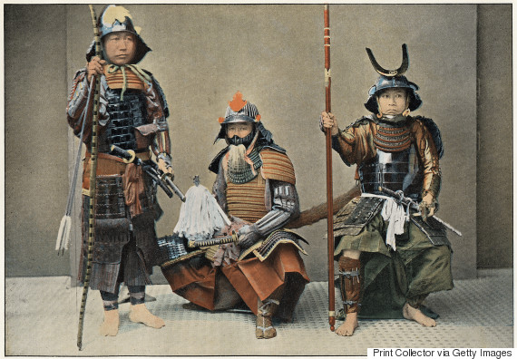 japanese samurai print collector