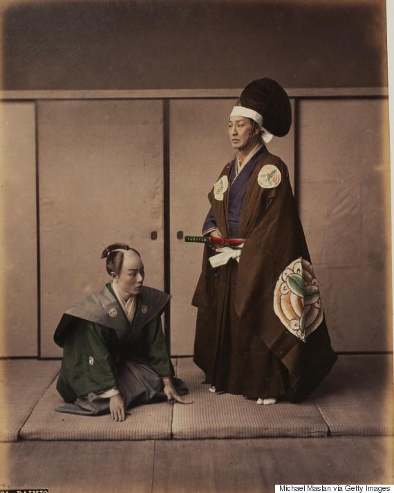 japanese samurai corbis