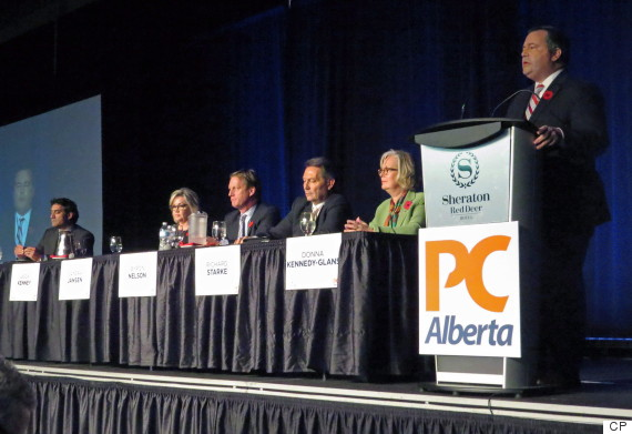 alberta pc leadership debate