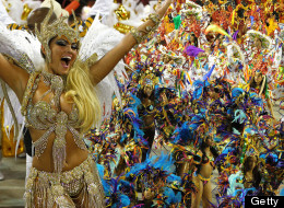 Which Celebrities Were At The Rio Carnival? (PICTURES)