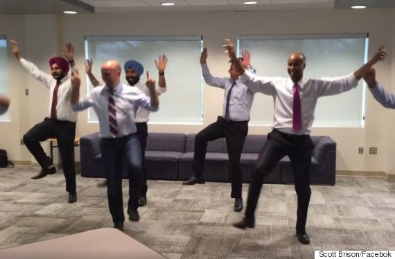 liberal mps bhangra