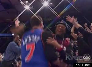 Knicks Fan Spike Lee