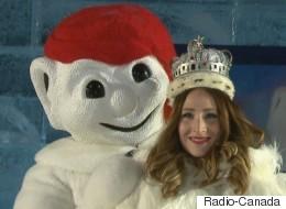 Claudine Julien couronnée reine du 63e Carnaval de Québec