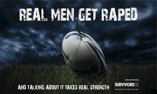 Real Men Get Raped Campaign Comes To London Tube Stations | HuffPost