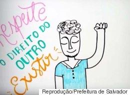 A Prefeitura de Salvador fez um vídeo que ensina a importância do respeito e dos direitos trans