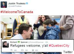 U.S. White Supremacist Trolls Trudeau Over Quebec City Attacks
