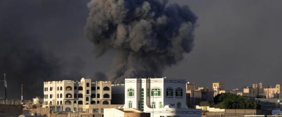SAUDI ARABIA BOMBED HOUTHI