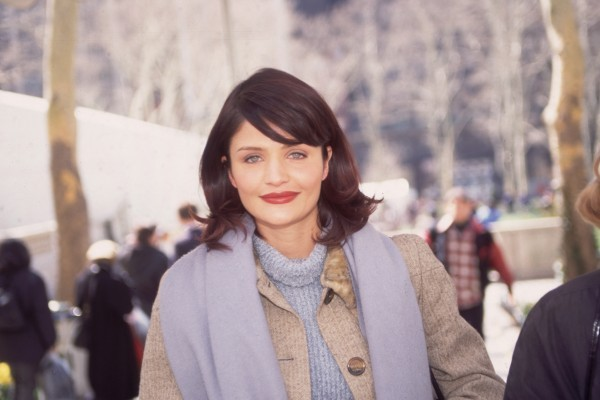 Helena Christensen's Turtleneck And Matching Scarf, 1995 ... Victoria Beckham For Target