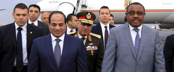 ETHIOPIAN AND EGYPTIAN PRESIDENT