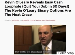 Regulator Warns Of 'Get Rich' Schemes Using O'Leary's Likeness