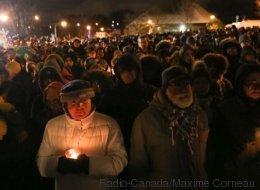 Québec se recueille à la mémoire des victimes de l'attentat