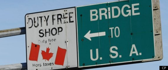 US CANADA BORDER SHOPPING PRICE GAP