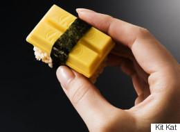 Des Kit Kat sushis pour célébrer la gastronomie japonaise