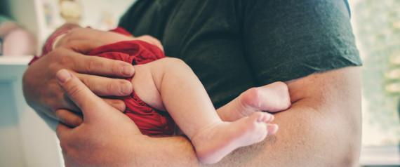 BABY HOLDING