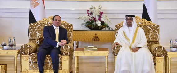 SISI AND MOHAMMED BIN ZAYED