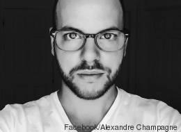 Alexandre Champagne, qui veut aider les musulmans, répond à ses détracteurs