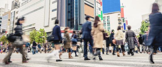 TOKYO PEOPLE WALKING