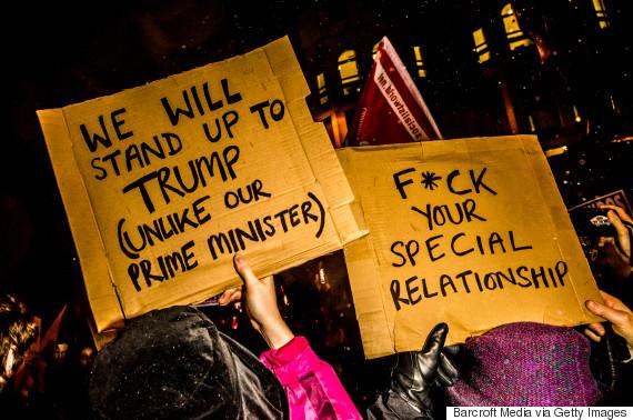 antitrump protest